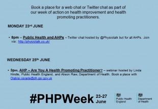 Webchat AHP promo